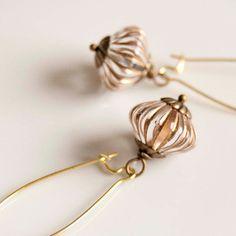 Adele  elegant earrings by EverydayGlory on Etsy