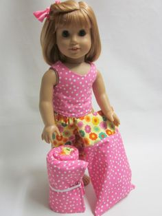 18 inch American Girl Doll Clothes Slumber Party by IndustriousDog