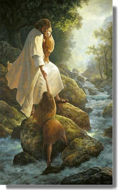 Be Not Afraid - Greg Olsen