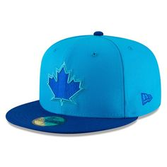 Toronto Blue Jays New Era Youth 2018 Players  Weekend On-Field Fitted Hat –  Blue Blue 085a2fc8aa3a