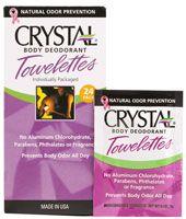 Crystal Body Deodorant® Towelettes