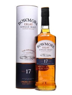 Bowmore 17 Year Old Scotch Whisky : The Whisky Exchange