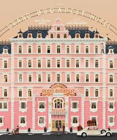 Designer Releases Sneak Peeks From Upcoming 'The Grand Budapest Hotel' Book - DesignTAXI.com