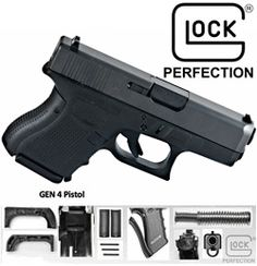 Glock 26 Gen 4 9mm Sub Compact $398.20 - I want this for myself :) hubs can have something else :)