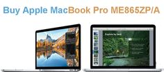 Buy Apple MacBook Pro ME865ZP/A  with Retina Display from TipTop Electronics with 178-degree view of everything very thin and sleek design  maintaining incredible color and quality.