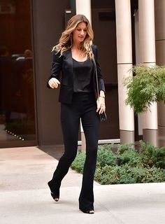 Gisele Bundchen seen on the streets of Manhattan on September 21 2016 in New…