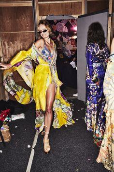 Sonny Vandevelde - Camilla Resort 19 Fashion Show Sydney Backstage Sydney Fashion Week, Daily Fashion, High Fashion, Fashion Show, Womens Fashion, Fashion Trends, Dior Ring, Main Theme, Camilla