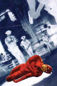 Daredevil by Julian Totino Tedesco * Comic Book Artists, Comic Books Art, Comic Art, Marvel Comics Art, Marvel Heroes, Daredevil Artwork, Marvel's Daredevil, Dog Of Flanders, Costume Rouge