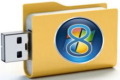 How to Install Windows 8 from a USB Key