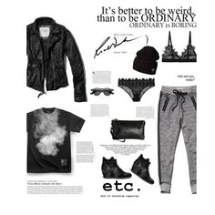 """""""Aliah"""" by senji ❤ liked on Polyvore featuring Ash, Abercrombie & Fitch, COS, Reverie, Kershaw and Scotch & Soda"""