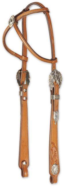 Hobby Horse Cross-Crown Headstall
