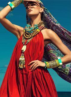 Barbara Fialho By Danny Cardozo For Harper's Bazaar Mexico, July 2013