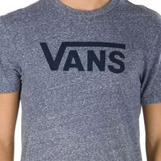 67d0cb3480 Vans Classic Snow T-Shirt 5Y1NE4 Navy Heather-Dress Blues  Vans Dress Blues