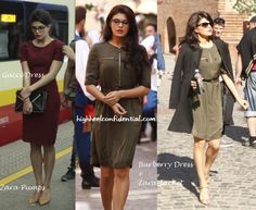We already told you about how we spotted a lot of Indian designers on Jacqueline's character Shaina in Kick. Thanks to her stylist Tanya Ghavri, we can now show you each one, in case you didn't see the movie yet. In addition to sporting Indian, Jacqueline also sports a few Victoria Beckhams, Dolce & Gabbanas …
