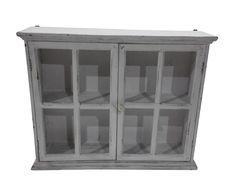 Подвесной шкаф с дверцами - пихта - серый, В50,Ш16,Д62 | Westwing Интерьер & Дизайн