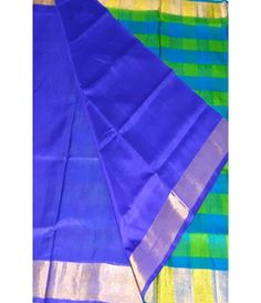 Multicolor Handloom Uppada Silk Saree