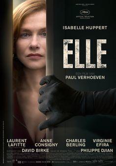 Zondag 25 september om 20:00 uur, Elle, in Filmhuis Heemskerk. Michèle (Isabelle Huppert) lijkt onverwoestbaar. Ze is hoofd van een toonaangevend videogamebedrijf en hanteert zowel zakelijk als privé dezelfde genadeloze houding. Als ze in haar huis wordt aangevallen en verkracht door een onbekende man verandert haar leven drastisch. Ze besluit zelf achter de dader aan te gaan en belandt in een spannend kat-en-muis-spel dat elk moment uit de hand kan lopen. Trailer…