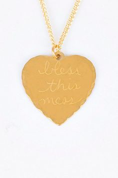 Bless This Mess Necklace #Necklace #Bless_This_Mess