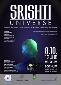 Srishti Universe im Kunstmuseum Bochum - ProKulturgut. Jazz, Workshop, Universe, Concept, World Music, Concerts, Atelier, Jazz Music, Work Shop Garage