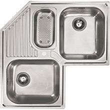 View the Franke AMX671-E Armonia Kitchen Sink Triple Basin Stainless Steel at FaucetDirect.com.