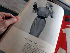 """From """"Vogue's New Book For Better Sewing"""""""