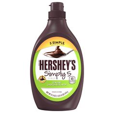 HERSHEY'S | HERSHEY'S SIMPLY 5 Syrup, 21.8-Ounce Bottle