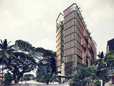 Boutique hotel, Federal Territory of Kuala Lumpur, 2018 - Bicuadro Architects