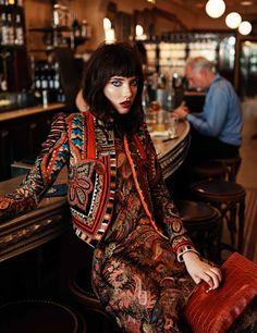 Grace Hartzel by Steven Pan for Elle France
