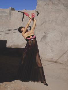 Overlay Intersection - Marte Mei, Sora Choi For Vogue Italia February 2018   cloverdesain