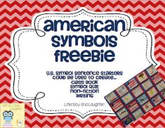 Teaching American Symbols {FREEBIE!}