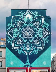 Une nouvelle oeuvre de Shepard Fairey alias OBEY dans Paris