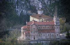 Santuario de Covadonga, Asturias, España
