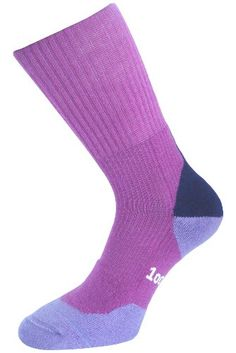 newest 1bed0 21ab5 1000 Mile Fusion Women s Walking Socks - AW17 - Small - Purple Made by  1000