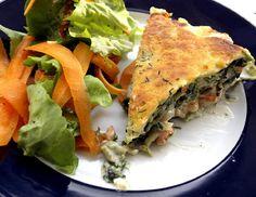 Receta: Tarta de ricota y espinaca