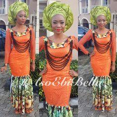 African fashion  Aso ebi bella