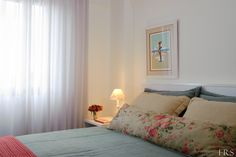 calm, simple room