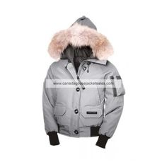 Womens Canada Goose Chilliwack Bomber Light Grey