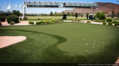 The Best Golf Turf Products Anywhere.  Combining extensive research and development with the latest state-of-the-art manufacturing technology and materials SYNLawn Golf offers the best in artificial golf turf products.