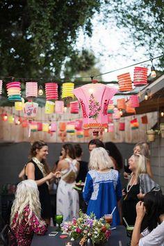 Summer Birthday Party Ideas Outdoor Summer Party Lanterns