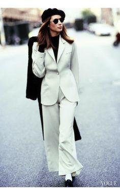 Boss lady Christy Turlington in Alaïa Vogue, August 1993 © Arthur Elgort