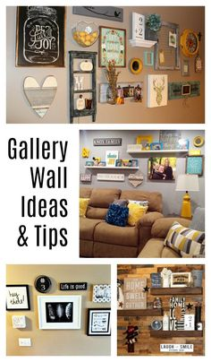 How to Build a Gallery Wall - Gallery Wall Ideas and Tips - Barn Owl Primitives