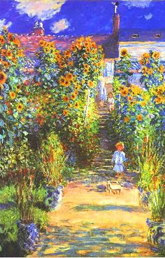One of Monet's many gardens.