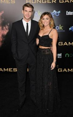 Liam Hemsworth & Miley Cyrus / I AM IN LOVE WITH THEM AND I WANT TO BE THEM. BOTH OF THEM. AT THE SAME TIME