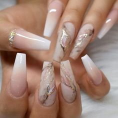 Today we have 41 of the most amazing nails you have ever witnessed! All of these nails will literally blow your mind! Well, hopefully not literally but figuratively, these nails will drive you insane! Summer Acrylic Nails, Best Acrylic Nails, Acrylic Nails Coffin Ombre, Ombre French Nails, Wedding Acrylic Nails, Acrylic Nail Art, Wedding Stiletto Nails, Neutral Acrylic Nails, Best Nails
