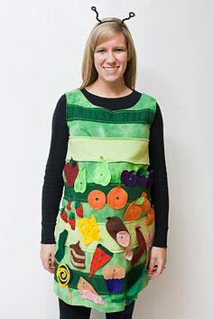Great handmade The Very Hungry Caterpillar costume!