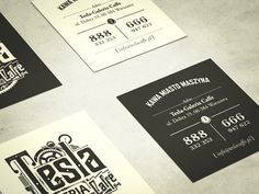 Tesla-business_cards  by Tomek Biernat