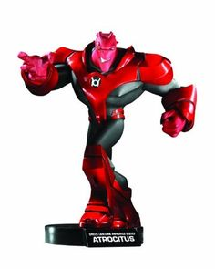 "DC Direct Green Lantern: The Animated Series: Atrocitus Statue by DC Direct. $89.95. From Cartoon Network's animated Green Lantern series. Portrays the animated version of DC Comics' vengeful Red Lantern. Designed by Dave Cortez. Perfect complement to the Hal Jordan Maquette (sold separately). Measures 8.25"" x 8"" x 6"". From the Manufacturer                Designed by Dave Cortez. With blood and rage of crimson red comes Atrocitus – in maquette form. From the hi..."