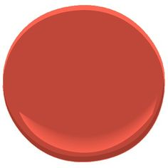 Benjamin Moore Ravishing Red-a color trend for 2016-This youthful, slightly orange red is cheerful and exuberant. Reminiscent of a red party dress, it is a confident shot of color in a kitchen or dining room.