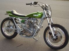 Yamaha XS650 flat tracker ~ a beauty.