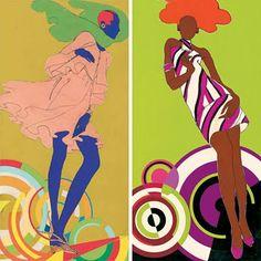 1960s Fashion Illustration by Antonio Lopez